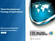 Talent Development Strategy & Applications - Institute of Bankers ...