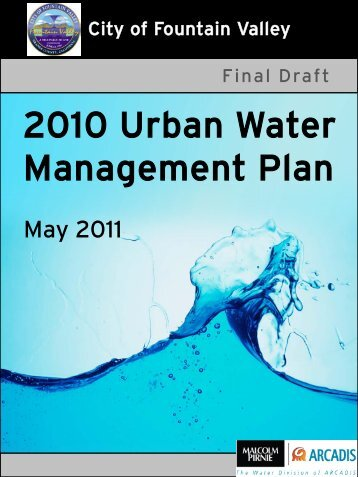 2010 Urban Water Management Plan - City of Fountain Valley