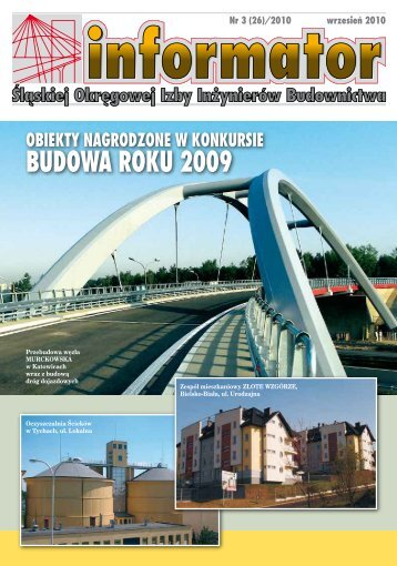 informator 3/2010 - Śląska Okręgowa Izba Inżynierów Budownictwa