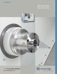 QUEST Shape-Compliant Hydraulic Chuck System - Hardinge Inc.