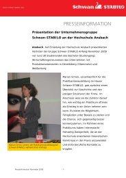 presseinformation - Schwan Stabilo