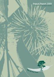 MOTT 2009 Annual Report - Men of the Trees