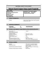 Natural Guard Copper Soap Liquid Fungicide - ePestSupply
