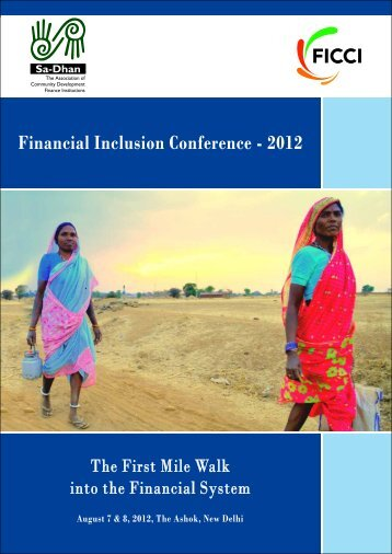Financial Inclusion Conference - Sa-Dhan