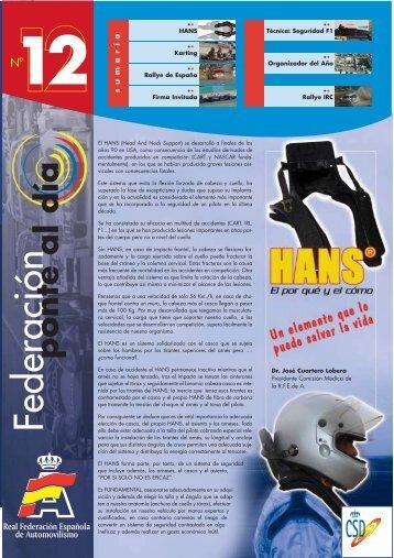 12 - Real Federación Española de Automovilismo