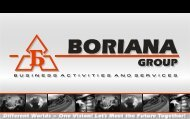 Company profile - Boriana Group