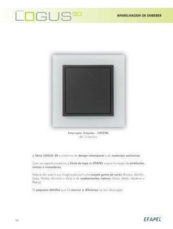 Download PDF Série Logus 90 - Efapel