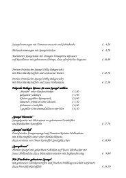 Spargel rustikal - Hotel Schwan & Post