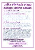 Stickat från topp till tå - Katrin Bawah - Page 2