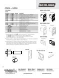 Schlage Catalog Commercial - Top Notch Distributors, Inc. - Page 6
