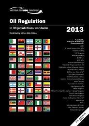 Oil Regulation - Bowman Gilfillan Attorneys