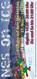 11. Jan. täglich 10:30 - 20:00 Uhr Do und Sa bis 21:00 Uhr