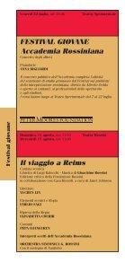 Programma - Il Portale Regionale della Cultura - Page 6