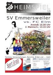 """Download """"HEIMSPIEL"""" Ausgabe 13 - Förderkreis Emmersweiler eV"""