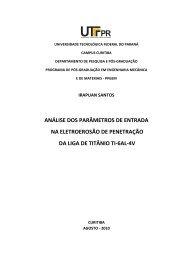 SANTOS, Irapuan.pdf - PPGEM - UTFPR