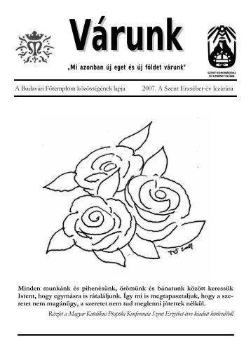 Szent Erzsébet (PDF - 422 KB) - Mátyás-templom