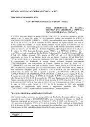 Contrato de Concessão - Eletrobras Amazonas Energia
