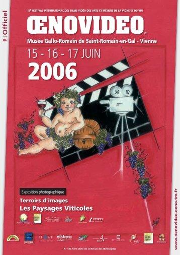 ŒNOVIDEO - Festival international de films sur la vigne et le vin ...