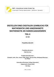 Kurzbericht - International Business College Hetzendorf
