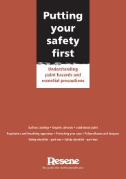 Putting your safety first - Resene