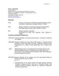 Raul Ernesto Sedano Cruz - UCLA Institute of the Environment and ...