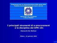 Gli strumenti dell'e-procurement e la disciplina del ... - RisorseComuni