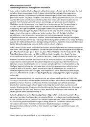 Licht am Ende des Tunnels - Psoriasis Forum Berlin eV