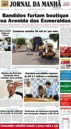 Bandidos furtam boutique na Avenida das ... - Jornal da Manhã