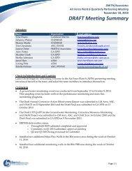 Air Force Plant 6 Meeting Summary – 18 ... - Smith | Associates