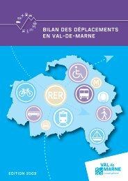 Le bilan des déplacements en Val-de-Marne (version pdf)