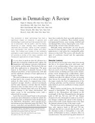 Lasers in Dermatology: A Review - Cutis
