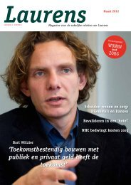 Download het magazine hier - Laurens