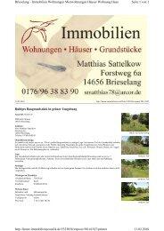 Seite 1 von 2 Brieselang - Immobilien Wohnungen Mietwohnungen ...