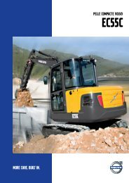 EC55C - Volvo Construction Equipment