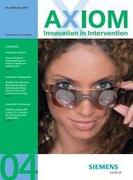 AXIOM Innovations April 2007 7.42MB - Siemens Healthcare