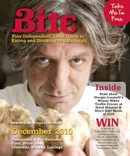 December 2010 Inside - Bite Magazine