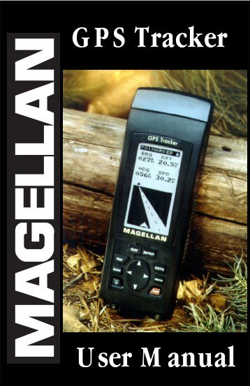 Magellan Tracker - Equipment