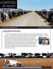 Fox Dairy - Texas Tech University