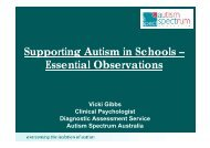 Supporting Autism in Schools – Essential Observations