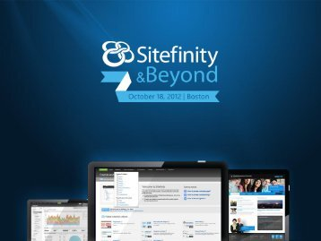 Multi-site configurations - Sitefinity