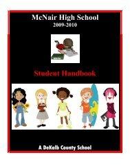 Student Handbook - DeKalb County Schools