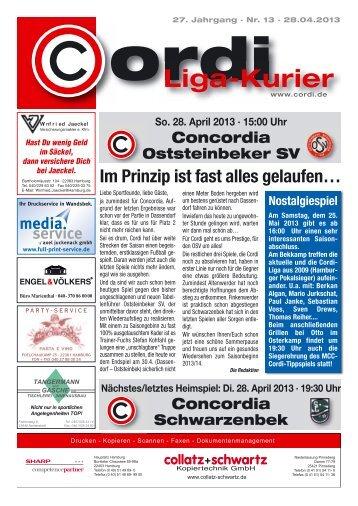 Liga-Kurier 2012/2013 #13 Oststeinbek
