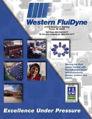 Excellence Under Pressure - FluiDyne