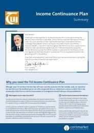 Income Continuance Plan - TUI