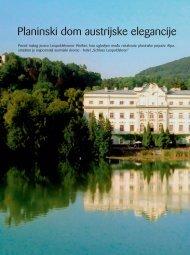 Planinski dom austrijske elegancije - Schloss Leopoldskron