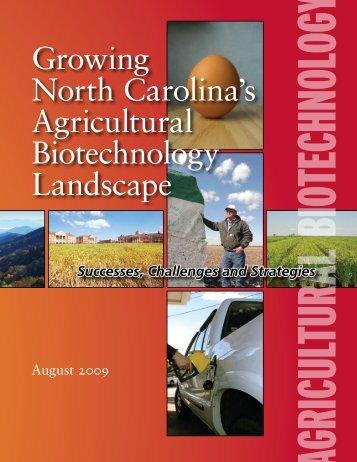 Growing North Carolina's Agricultural Biotechnology Landscape