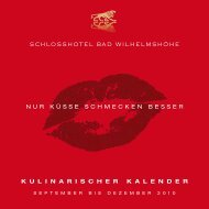 SchloSShotel Bad WilhelmShöhe N U R K Ü ...