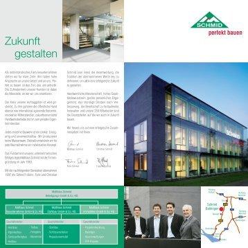 Faltblatt Schmid 24 x 24 Druck.FH10 - Schmid Bauunternehmen