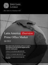 4Q12 Latin America Office Overview - Jones Lang LaSalle