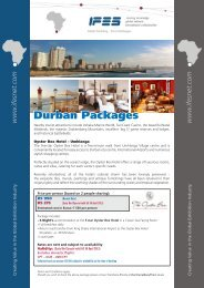 Durban Packages - IFES